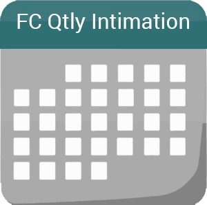 FC Qtly Intimation